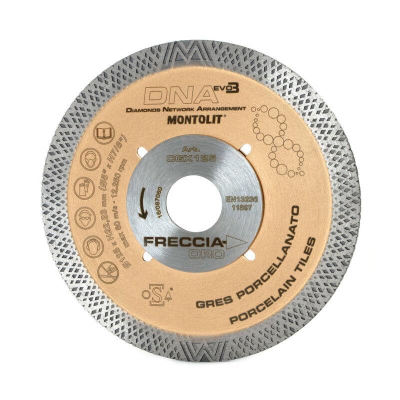 Montolit CGX DNA 115mm Diamant Klinge cgx115 Schneiden Rad Porzellan