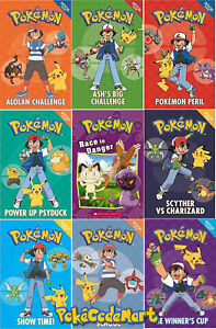 Details Sur Pokemon Official Fiction Book Collection Pikachu Ash Choisir Un Livre Afficher Le Titre D Origine