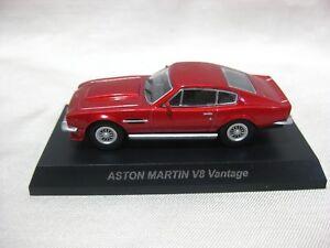 1 64 Kyosho Aston Martin V8 Vantage Rot Diecast Modellauto Ebay