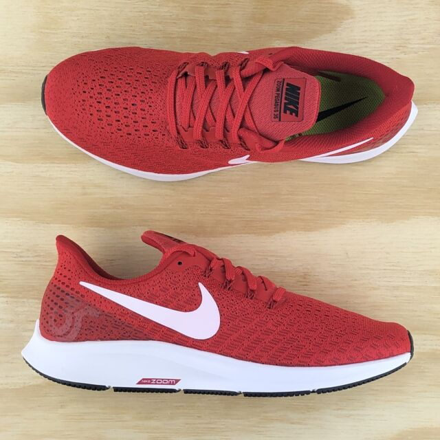 Nike Air Zoom Pegasus 35 TB Red White Cross Fit Running Shoes AO3905 601 Size