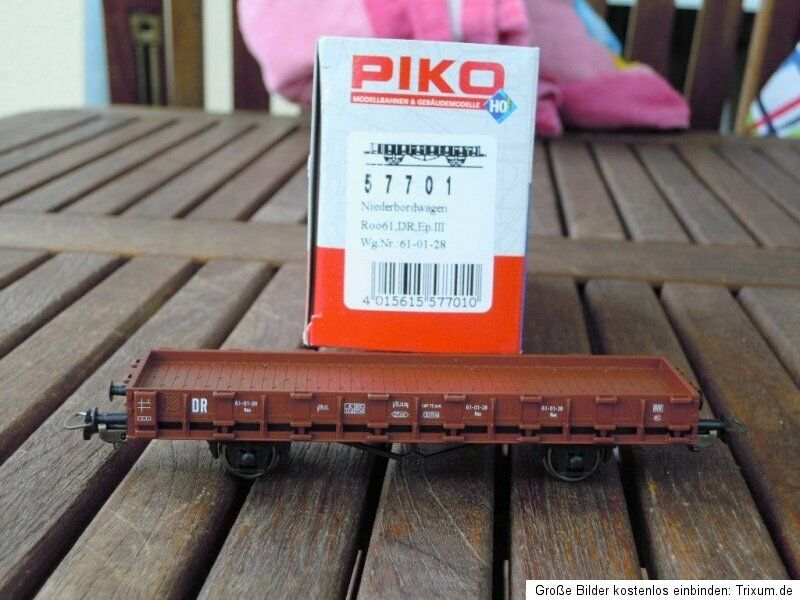 Piko 57701 Low-Sided Wagon Roo Dr Ep. 3 Neuwertig Boxed,with Kk