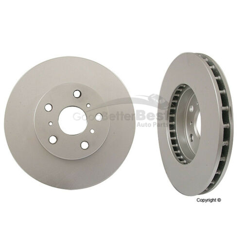 One New Meyle Disc Brake Rotor Front 30155210021//PD 4351232120 for Toyota Camry