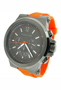df1e962925b9 Image is loading NEW-MICHAEL-KORS-CHRONOGRAPH-100M-MENS-WATCH-MK8296