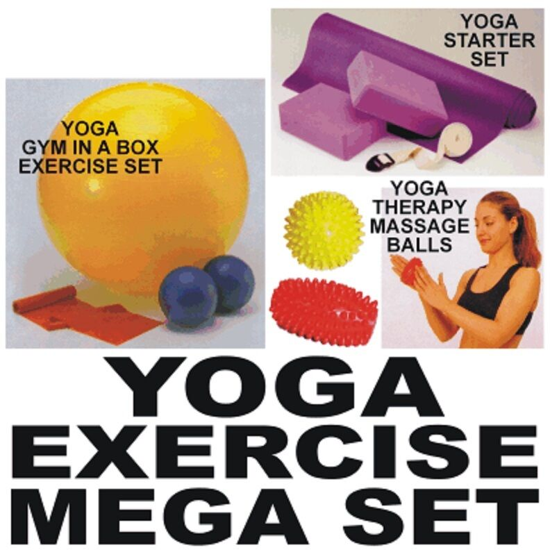 YOGA Mega Set  The Ultimate Exercise and Fitness Kit