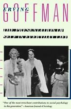The Presentation of Self in Everyday Life by Erving Goffman (1959, Paperback)