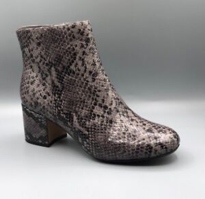 damas de moda botines púrpura gris barley D Nueva 5 impresión Uk May de Clarks serpiente wZz115q8y