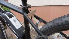 Sehr stabile Rücklichthalterung (z.B. velocate) für das Cube Reaction E-Bike