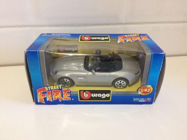 BBURAGO STREET FIRE 1/43 BMW Z8  GRIGIO