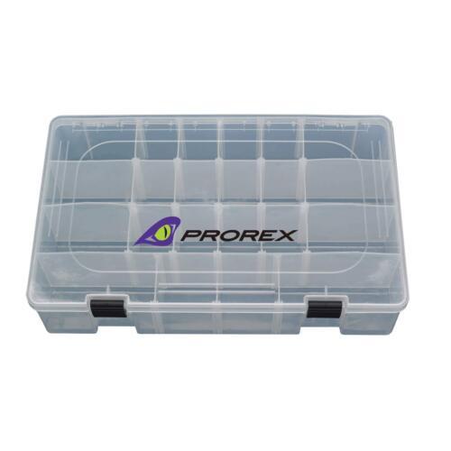 Prorex Köderschachtel XL 36x22.5x8.5cm Daiwa Angelbox Köderboxen
