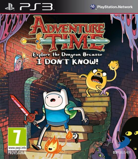 Adventure Time - Explore the Dungeon Because I don't know For PAL PS3 (New)