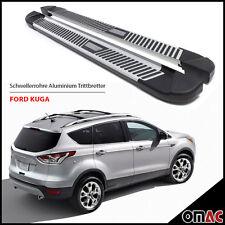 Schwellerrohre Aluminium Trittbretter für Ford Kuga II ab 2013 Pyramid (183)