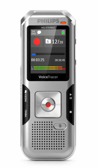 Philips DVT4000 4GB Digital Voice Tracer ***FREE DELIVERY***BRAND NEW IN BOX***