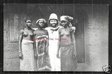 Togo rppc Girls BEAUTIES German Sailor Lome Africa ca 1910