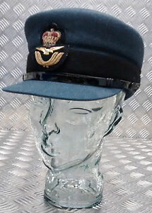Genuine-British-Royal-Air-Force-WRAF-Officers-No1-SD-Dress-Hat-Womans-RAF
