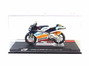 APRILIA-RSW-125-22-IXO-ALTAYA-1-24-DIECAST-MOTORCYCLE-COLLECTOR-039-S-MODEL-NEW