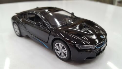 BMW i8 Model Car 1:36 Scale Quality Diecast Metal Super Car Opening Doors NEW