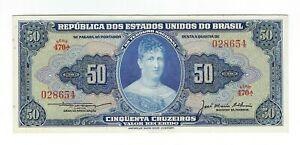 50-Cruzeiros-Bresil-1956-c025-p-152a-Brazil-billet