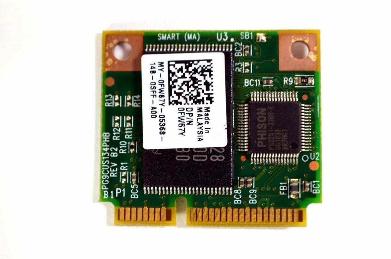 Dell E4310 E6410 E6510 M4500 M6500 Fast-Boot ON FLASH Module SMA-31D2GP(B) FW67Y