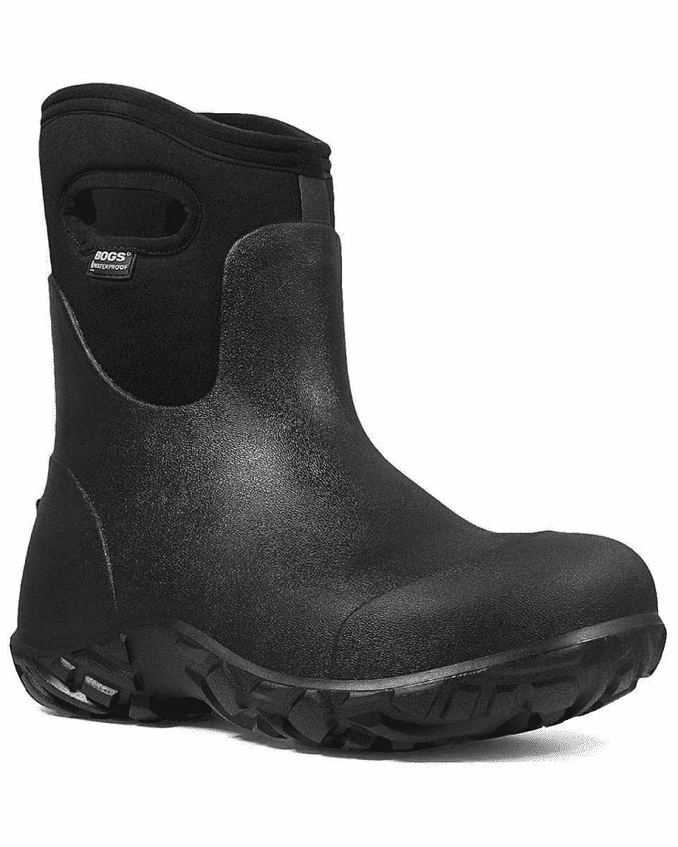 Bogs Trabajador Hombre Térmico Puntera Composite botas de Trabajo Negro