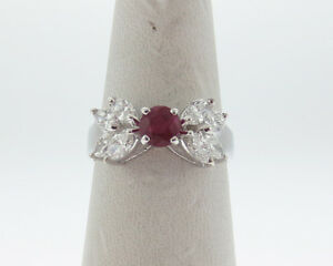 Fine-Jewelry-1-55ctw-Natural-Ruby-Diamonds-Solid-14k-White-Gold-Ring-FREE-Sizing
