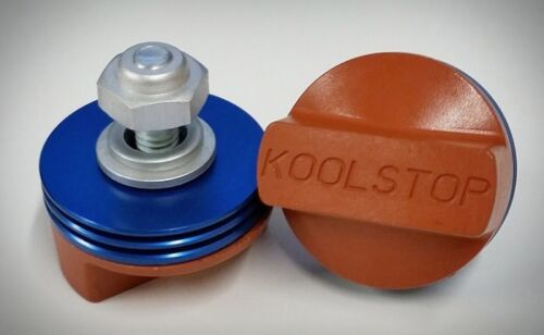Sold In Pairs Kool Stop BMX International Blue /& Salmon Brake Pads