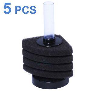 5PCS-Bio-Corner-Sponge-Filter-Breeding-Shrimp-Nano-Fish-Tank-Aquarium-Mini
