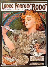 Alphonse Mucha LARGE A3 Size Art Nouveau Deco Parfum Rodo Poster & FREE Print