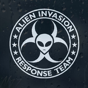 Alien-Invasion-Response-Zombie-Team-Car-Graphic-Decal-Vinyl-Sticker