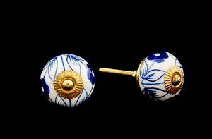 2-Knopf-S-Moebel-Griff-aus-Porzellan-Einschubteil-Einrichtung-96