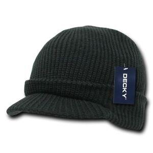 6ebedb80830 Details about Decky Youth Boys Girls Kids Size Warm Beanies GI Jeep Watch  Caps Hats Ski Visor