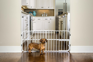 Charmant Image Is Loading Pet Dog Gate Puppy Cat Door Expandable Barrier