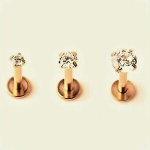 2mm-3-4-5mm-GOLD-Gem-Helix-Earing-Stud-Labret-Monroe-Bar-Internally-Threaded-16g