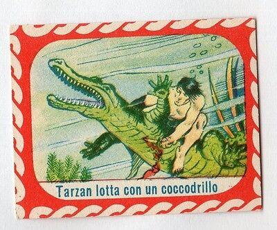 figurina TARZAN CICOGNA TARZAN LOTTA CON UN BANDITO