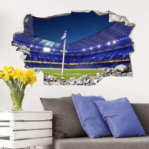 Details Zu 3d Wandtattoo Volksparkstadion Wandaufkleber Wandsticker Fussball Sport Fan Hsv