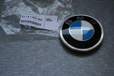 BMW E28 E30 Z3 GENUINE Rear Boot Trunk Lid Emblem Badge Logo Sign 51141872969