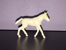 Marx Colt from Farm Playset.  2nd Series in Cream Plastic.   1960s