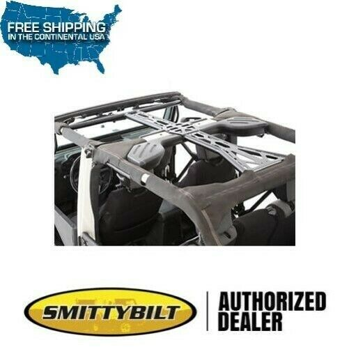 Smittybilt Src 6 Piece Käfig Set 11-17 Jeep Wrangler Jku 4 Door 76904 Schwarz