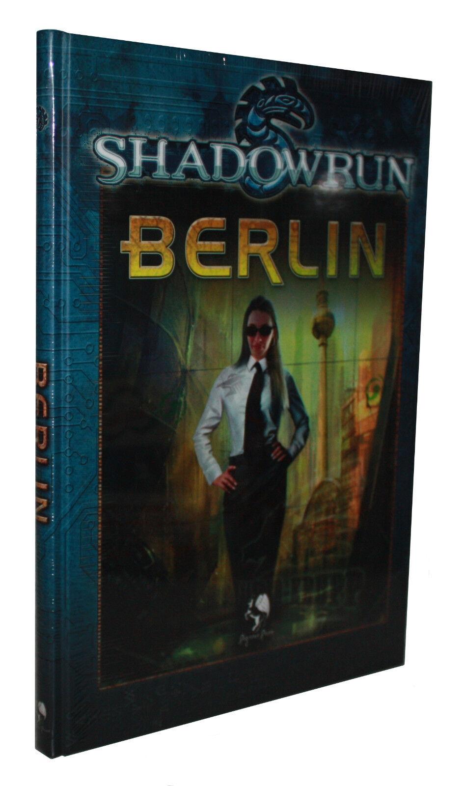 SHADOWRUN-BERLIN-Cyber Rollenspiel-(HC)-PEGASUS SPIELE-neu-OVP in Folie