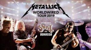 2 X FOS1 Tickets Metallica 25.08.2019 Mannheim Ausverkauft World Wired Tour 201