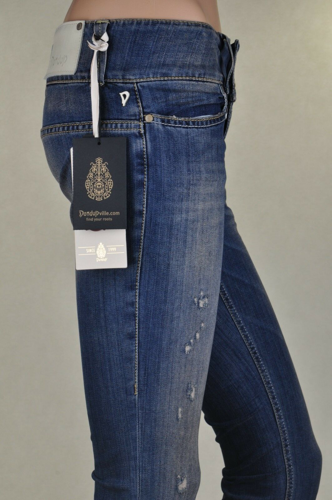 Dondup  -  Pantalones - women - blue - 172926A181549