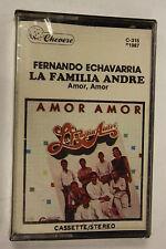 Femando echavarria la familia andre(Audio Cassette Sealed)