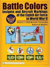 Book - Battle Colors Vol 1: Insignia & Aircraft Markings of the 8th AAF in WW II