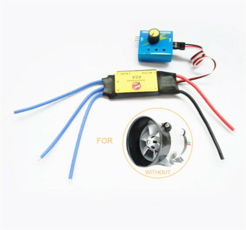 12V 40A ESC Drive Controller 480W for Car Turbine Power Booster Turbo Charger