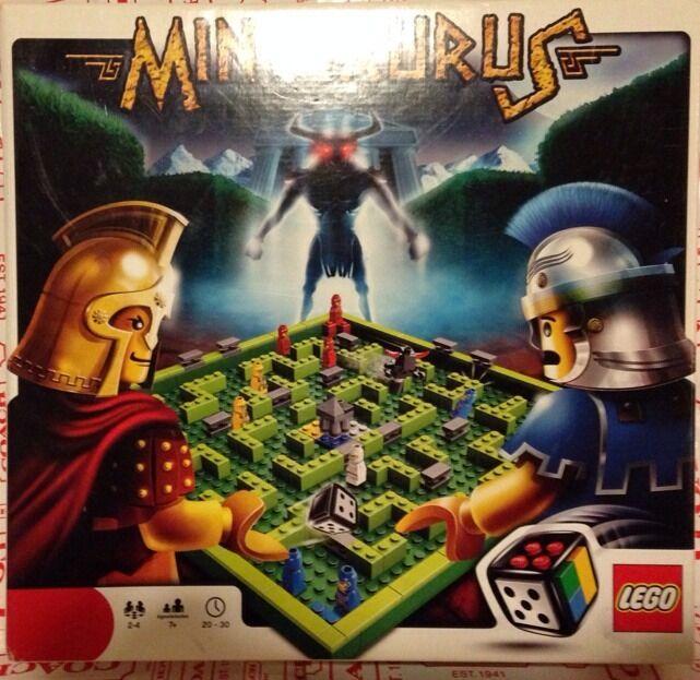 LEGO MINOTAURUS BOARD buchstabieren 3841 DICE