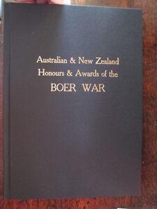 Boer-War-Australian-NZ-Honours-Awards-500-Trooper-Soldier-Bios-Military-Book