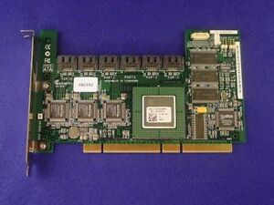 Adaptec-AAR-2610SA-64MB-6-Port-PCI-X-SATA-RAID-Controller-Card-dell-0H2052