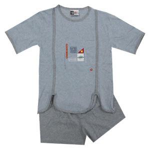 ce96c3152b Das Bild wird geladen Comtessa-Shorty-Nachtwaesche-Schlafanzug -kurz-blau-Sommer-Maedchen-