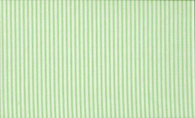 Lime Green Ticking Fabric by Makower 100% Cotton  FQ