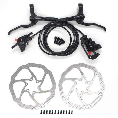 Shimano BR MT200 Brake MTB Hydraulic Brake Disc Set 800mm//1550mm with RT56 Rotor