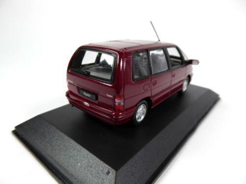 1//43 Norev Voiture Miniature Diecast 953 Renault Espace II 1992 Malaga Red